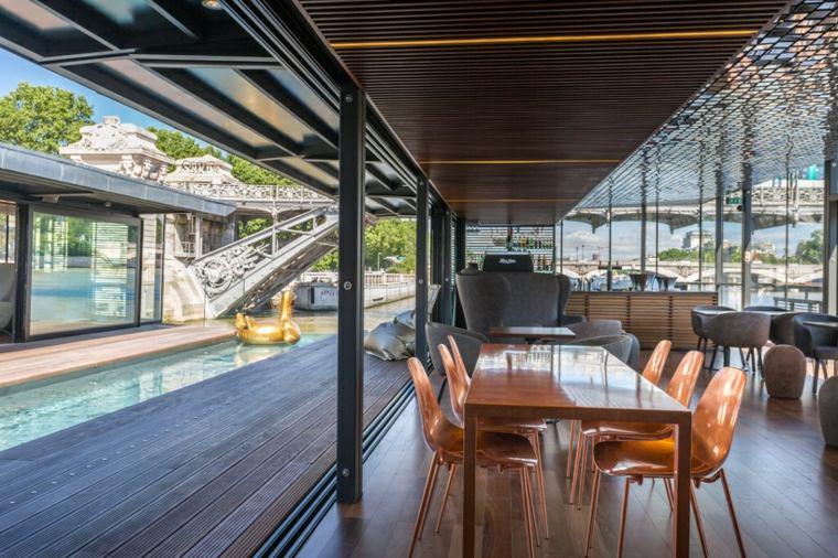 hotel especial terrazas estilos mesas