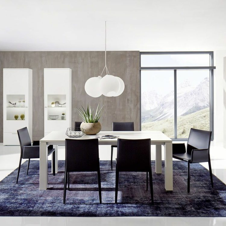 Comedores mobiliario y estilos, la elección adecuada
