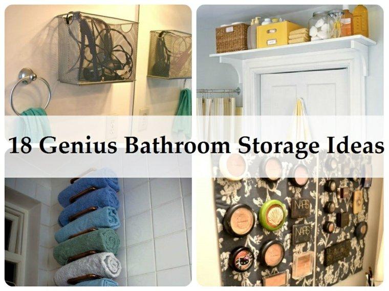 almacenamiento ideas pr 225 cticas para los manitas de la casa bathroom towel storage ideas creative 2016 ellecrafts