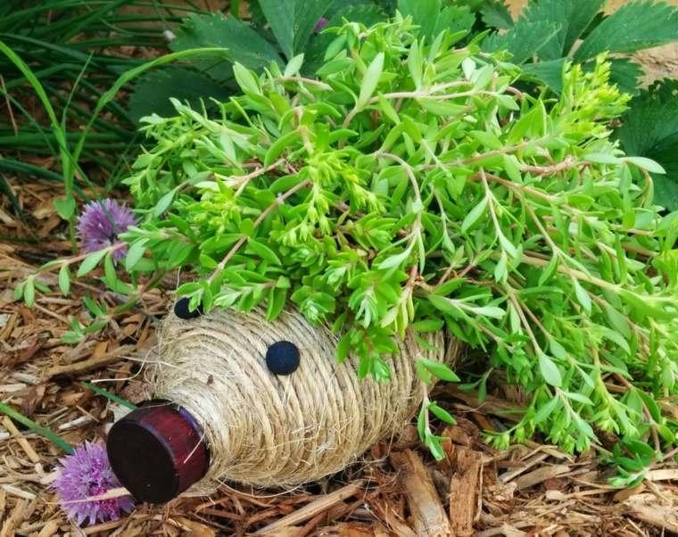 Ideas creativas manualidades y decoraci n del jard n for Bricolaje para el jardin