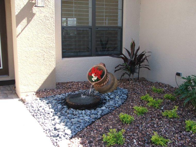 Pozos decorativos para jardin pozo fuego piedras cesped sillones madera teca ideas imagen pozo - Fuentes de jardin de segunda mano ...