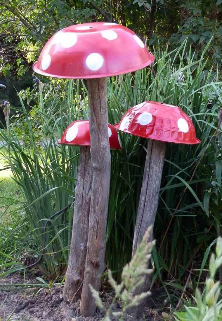 Ideas creativas manualidades y decoraci n del jard n for Setas jardin