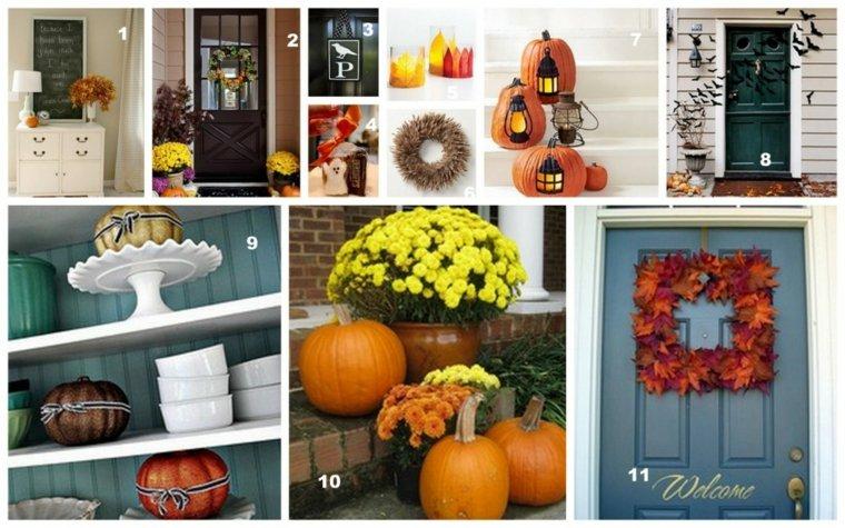 ideas decoracion llegada del otoño