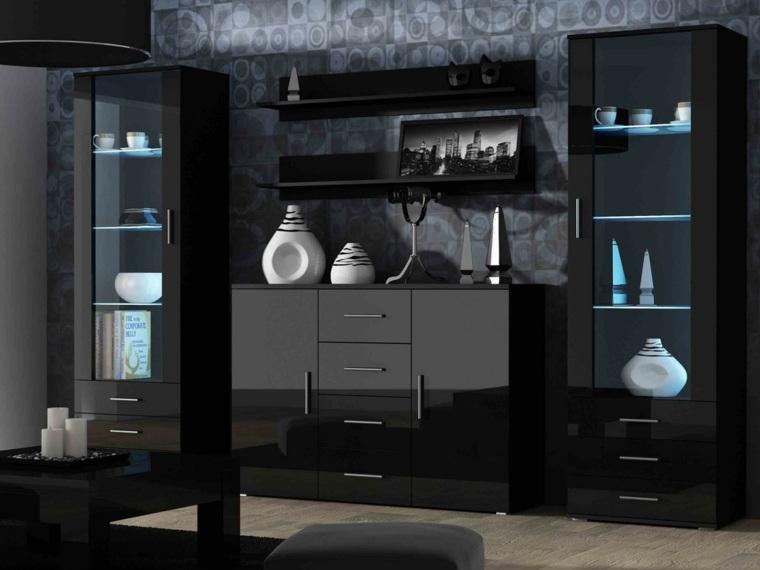 ideas para diseño interior luz azul