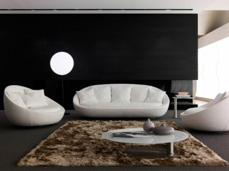 Ideas para el dise o interior de paredes negras con for Formas de pintar paredes interiores