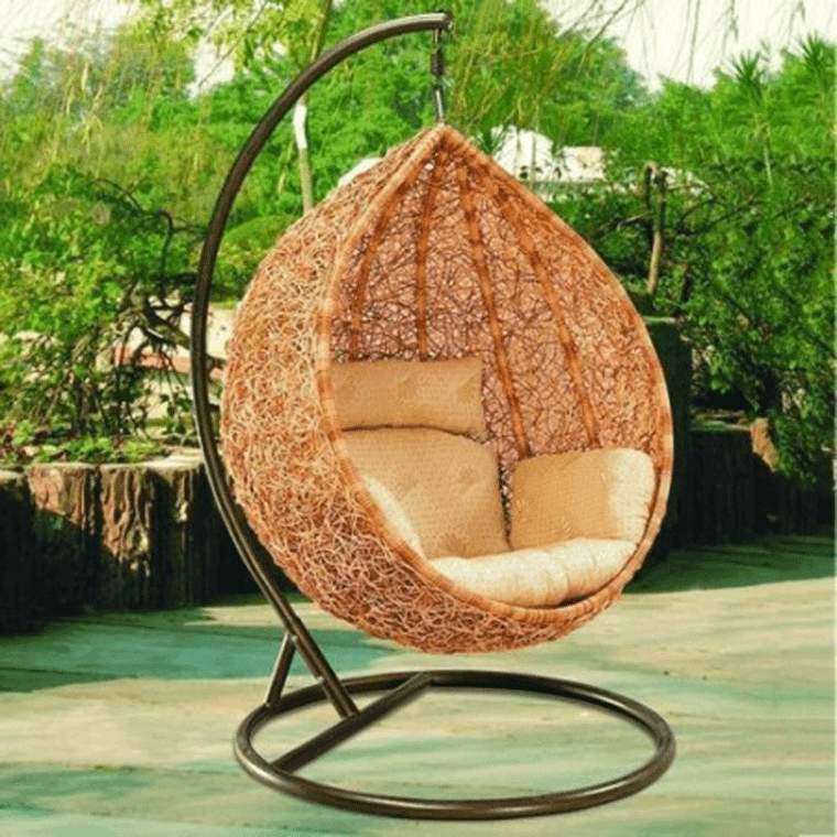 Ideas para el jard n inspiradas en el descanso y la for Outdoor hanging beds for sale