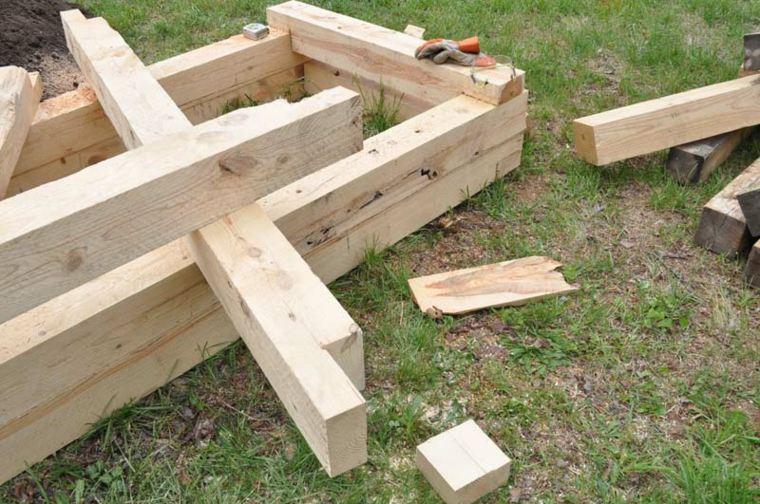 ideas para reciclar palets jardín