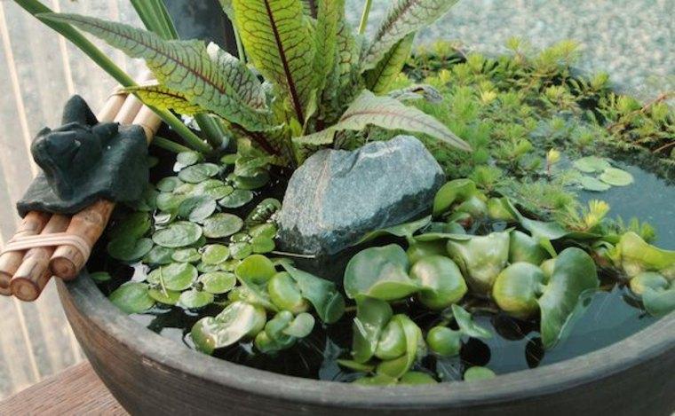 imagen fuente agua estilo zen
