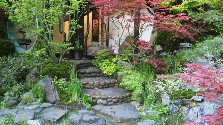 impresionante diseño jardín casa