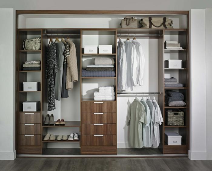 interiores de armarios colores materiales salones