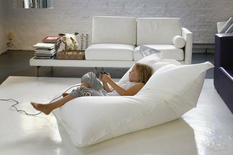 interiores mobiliario blanco conceptos salones