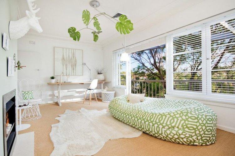 interiores mobiliario sofa detalles plantas