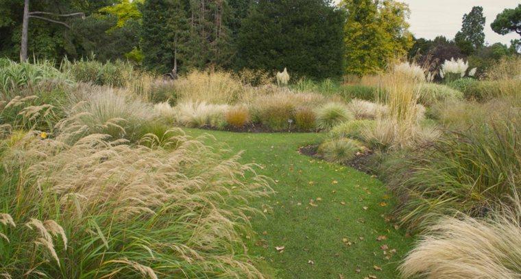 jardin bonito diseno paisaje moderno