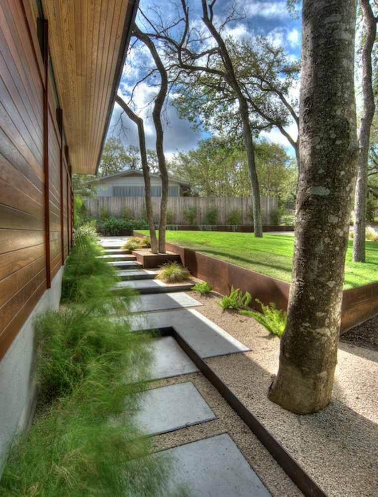 jardin diseno moderno estilo modern