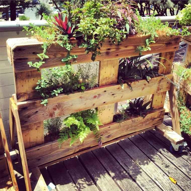 Jardinera diy de palet 12 sencillos pasos para construirla - Jardineras con palets ...
