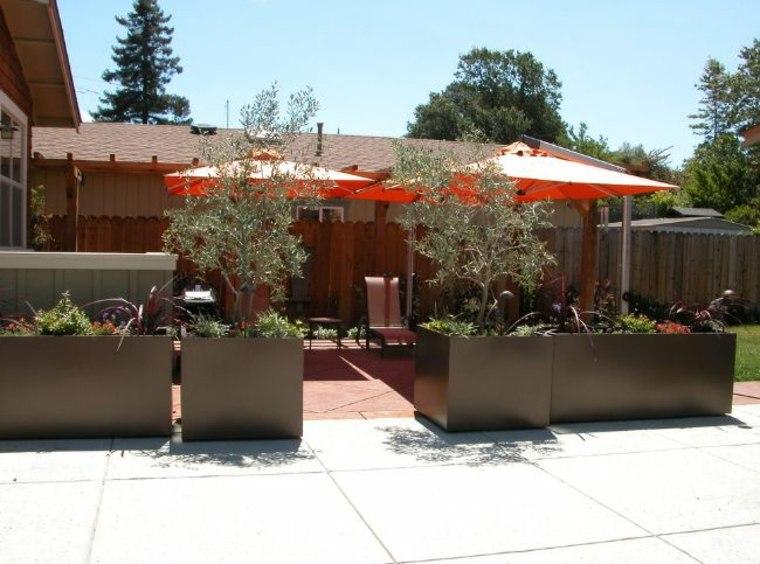 jardineras macetas opciones interesantes diseno minimalista ideas