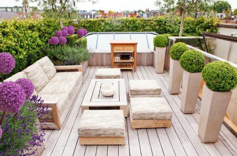 jardineras macetas opciones interesantes muebles diseno ideas