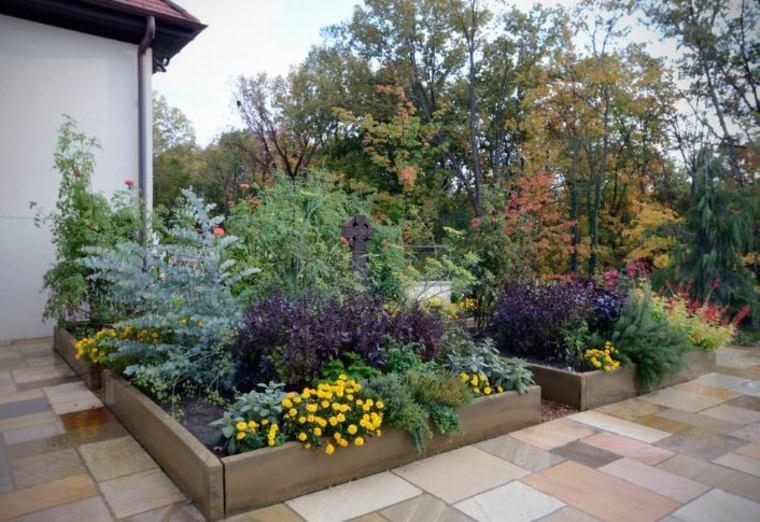 opciones interesantes flores jardin ideas