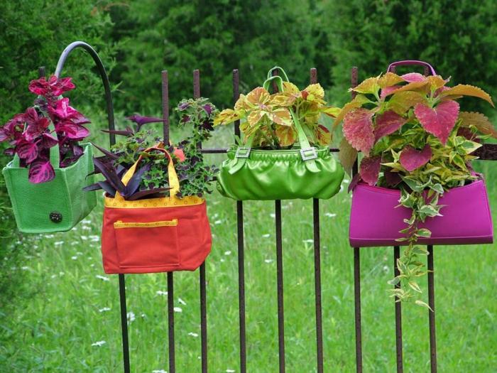 jardines decoracion carteras colores muestras