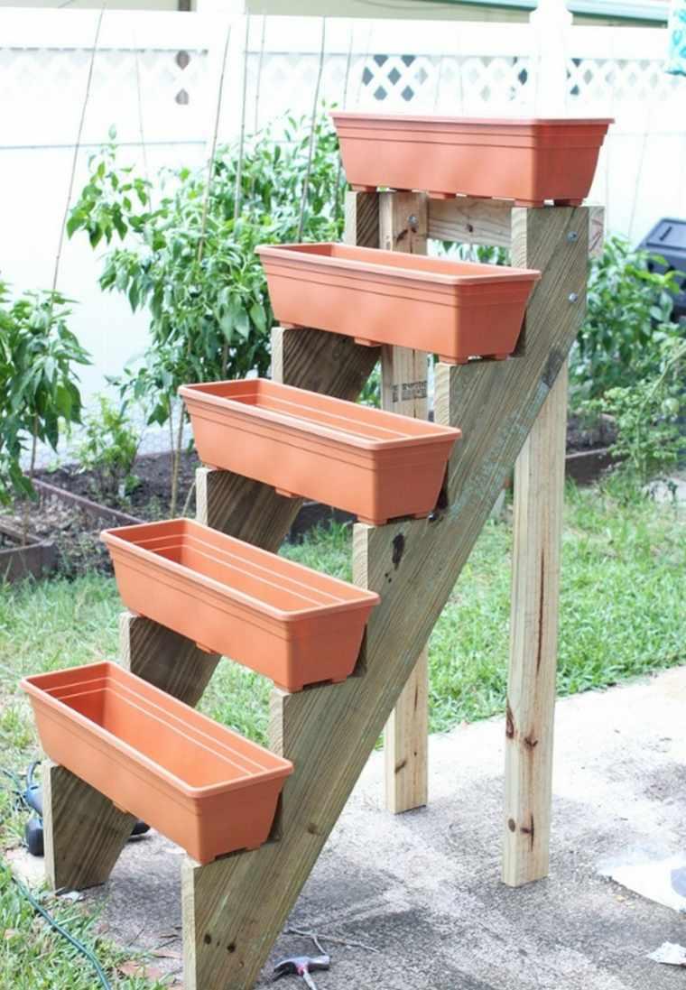 jardines verticales caseros macetas
