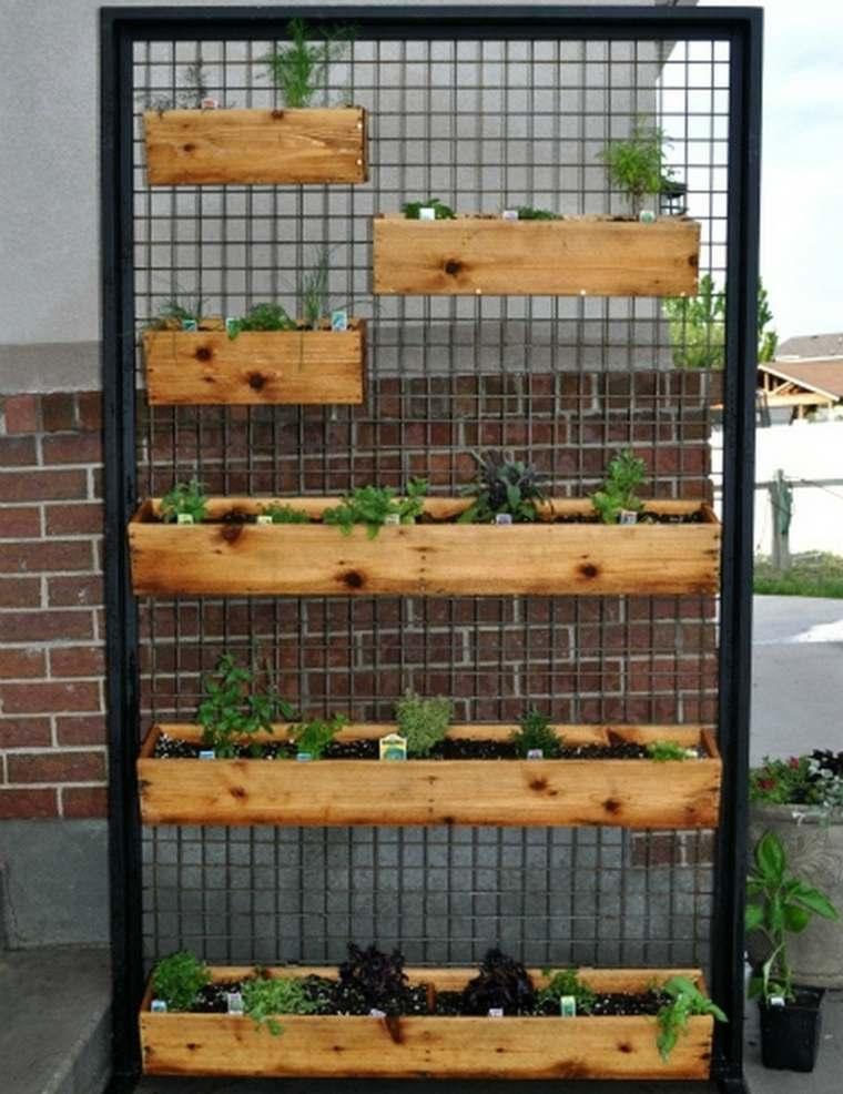 jardines verticales para la terraza