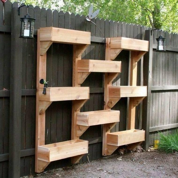 jardines verticales para terraza muro verduras
