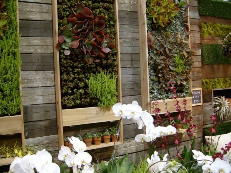 jardines verticales para terraza