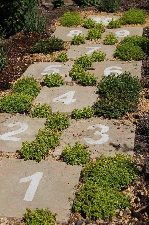 Juegos para ni os al aire libre 21 ideas para aprovechar - Losas para jardin ...
