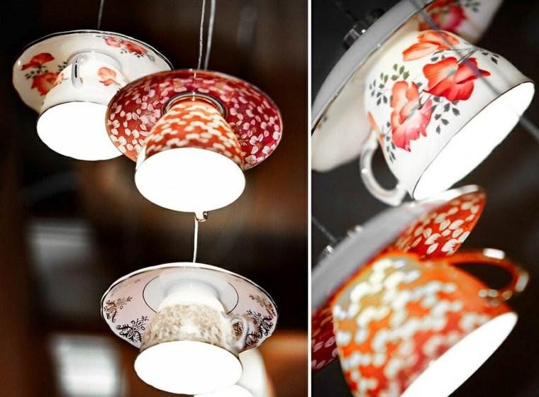 lamparas moderna hechas tambores opciones tazas te ideas