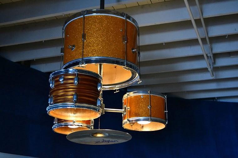 lamparas moderna hechas tambores opciones ideas