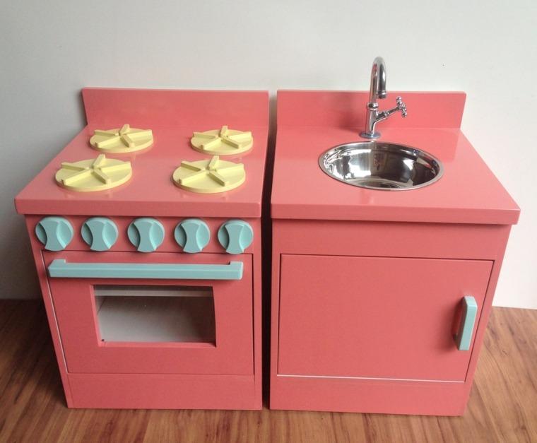 lavadora estufa coloridos cocina juegos ninos ideas