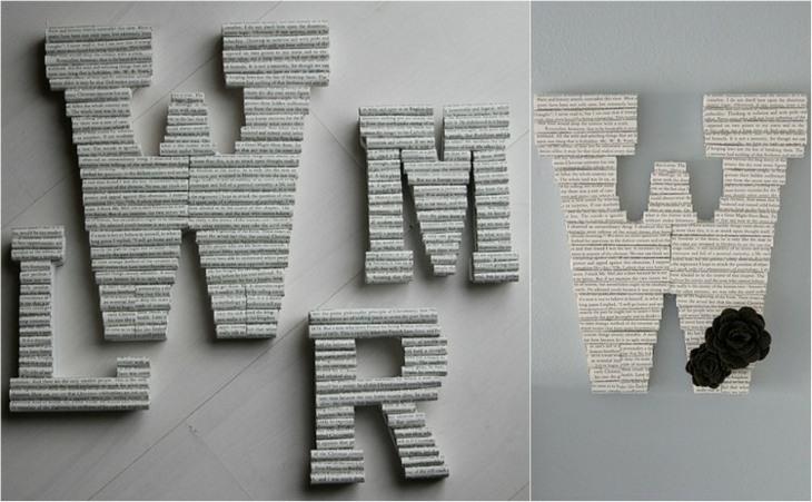 letras paredes funciones materiales materiales