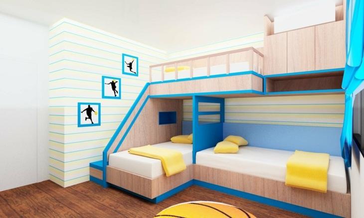 Literas dise os especiales en 44 ideas alucinantes - Dormitorios con literas para ninos ...