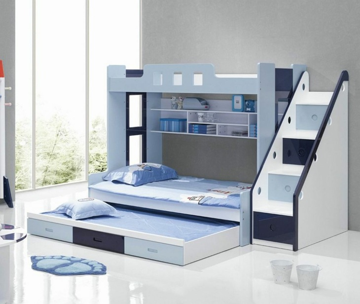 literas diseños especiales azules muestras azules