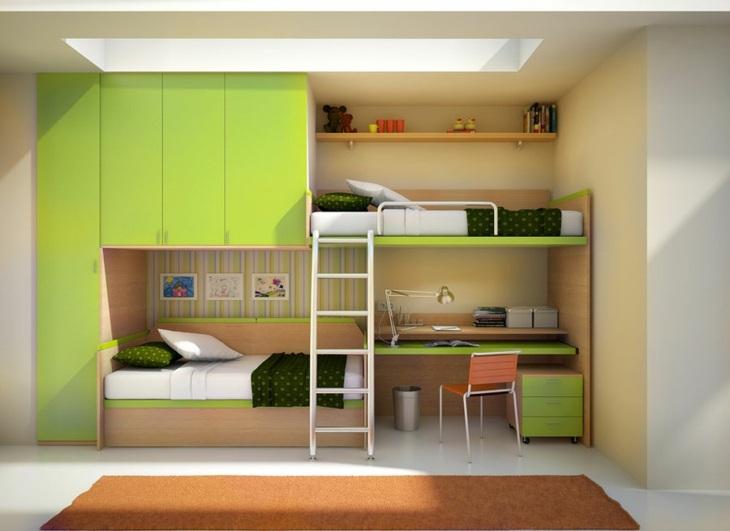 literas diseños verdes escritorios verdes