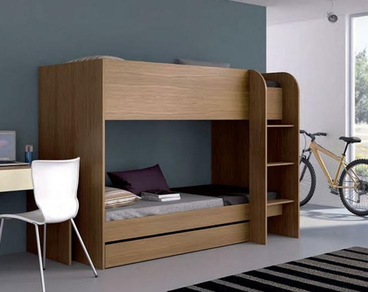 madera solido espacios colores barandilla