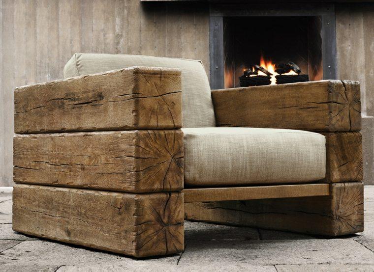 Manualidades con madera ideas de muebles que puede recrear for Sillon terraza madera