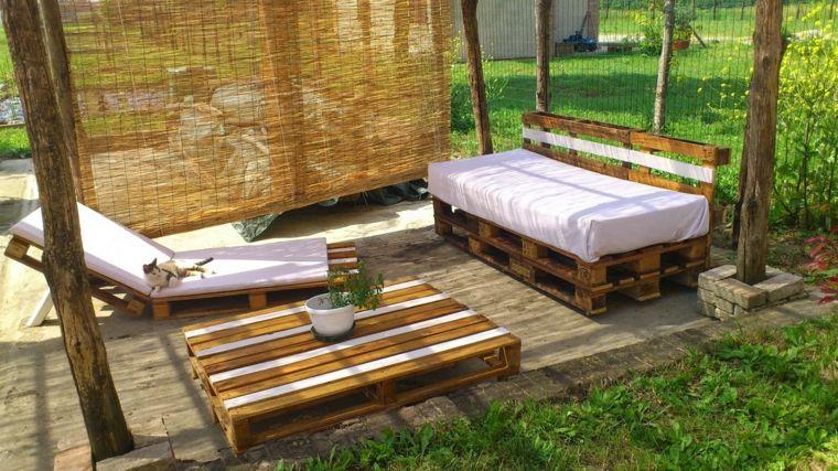 manualidades madera opciones sofa mesa tumbona palets ideas