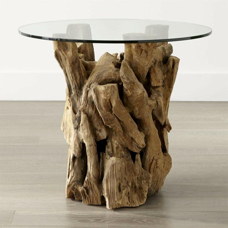 manualidades madera opciones tronco viejo ideas