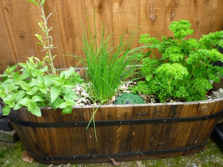 manualidades decorar jardin creativas jardin hierbas ideas