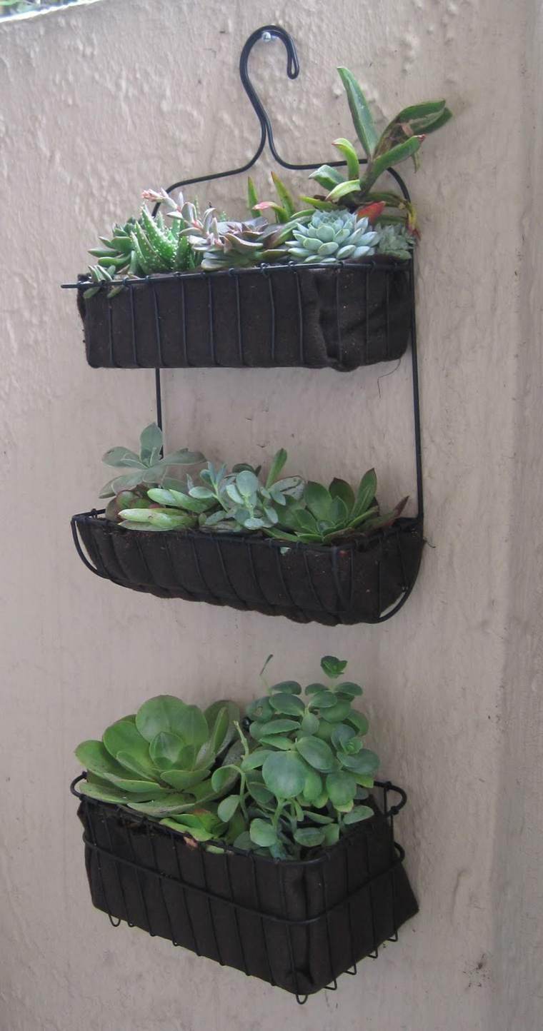 manualidades opciones colgar plantas percha ideas