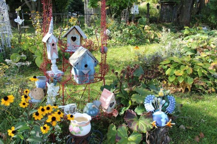 Manualidades para ni os creaciones especiales para jardines for Garden designs for kids