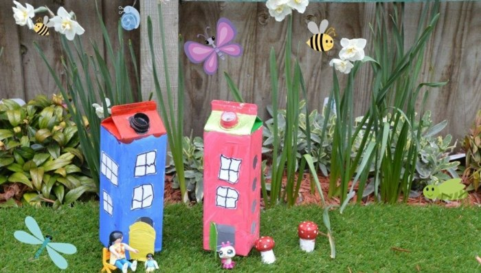 Manualidades para ni os creaciones especiales para jardines for Bordillos de plastico para jardin