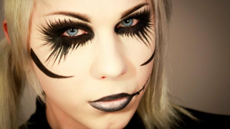 Maquillaje Para Halloween Como Hacerlo - Como-maquillar-a-una-diabla