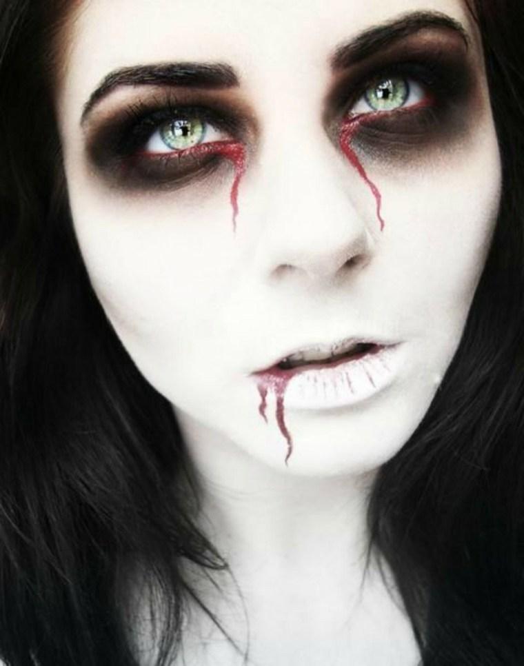 maquijalle para halloween zombie