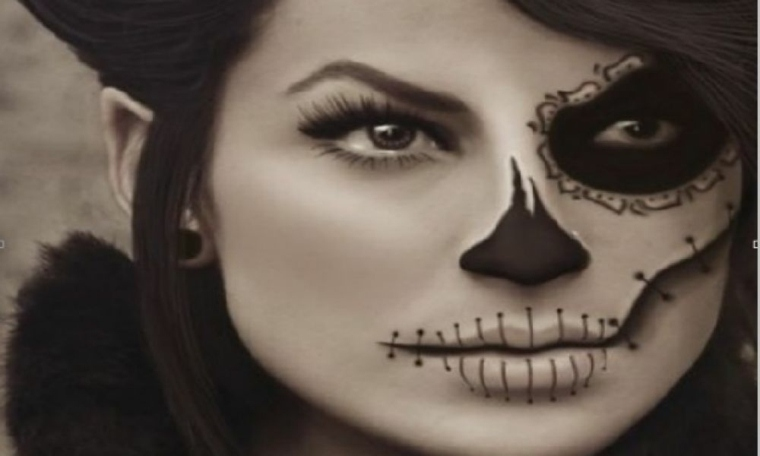maquillajde para halloween motivos piratas