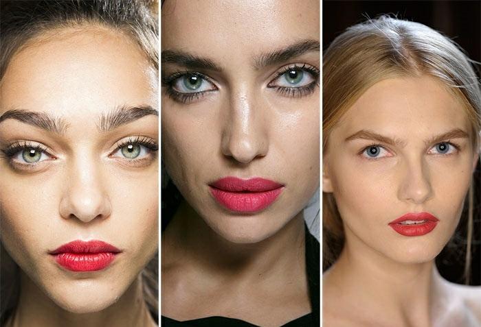 maquillaje natural moderno tendencia 2016 pintalabios destaca ideas