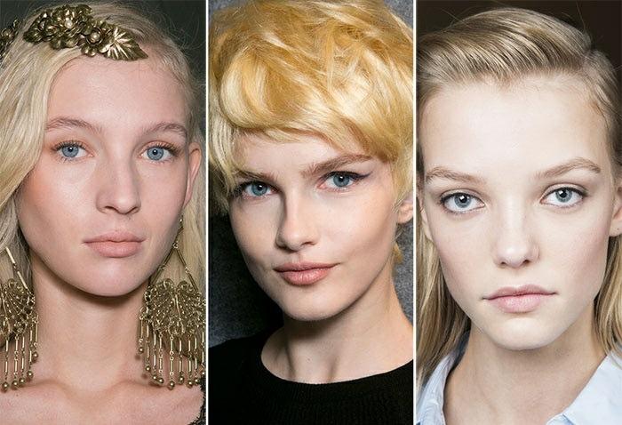 maquillaje natural moderno tendencia 2016 tono neutral ideas