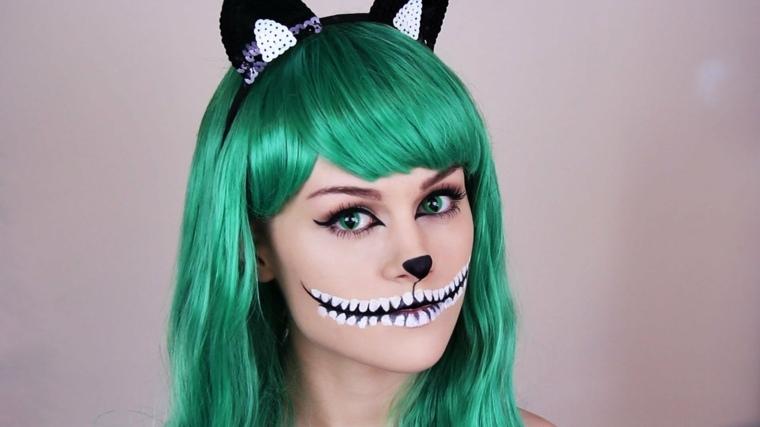 maquillaje para halloween dos estilos