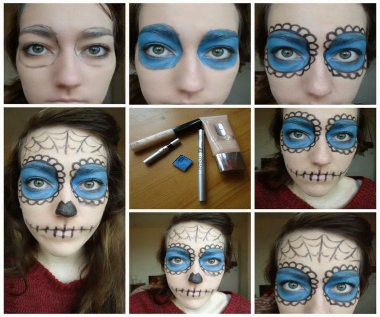 maquillaje para halloween paso paso